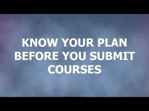 Tutorial 2 course selection in myblueprint youtube tutorial 2 course selection in myblueprint malvernweather Images