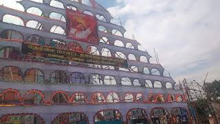 Nellai Ram Cinemas 150ft cutout 120ft Arch this Diwali special #Mersal
