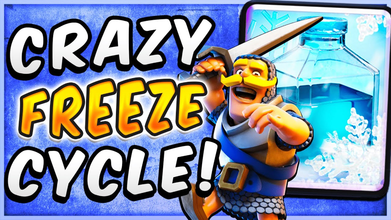 NO ONE EXPECTS THIS! FASTEST FREEZE CYCLE DECK in CLASH ROYALE!