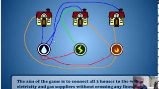 3 Ev Bulmacası Oyununu Çözüm videosu
