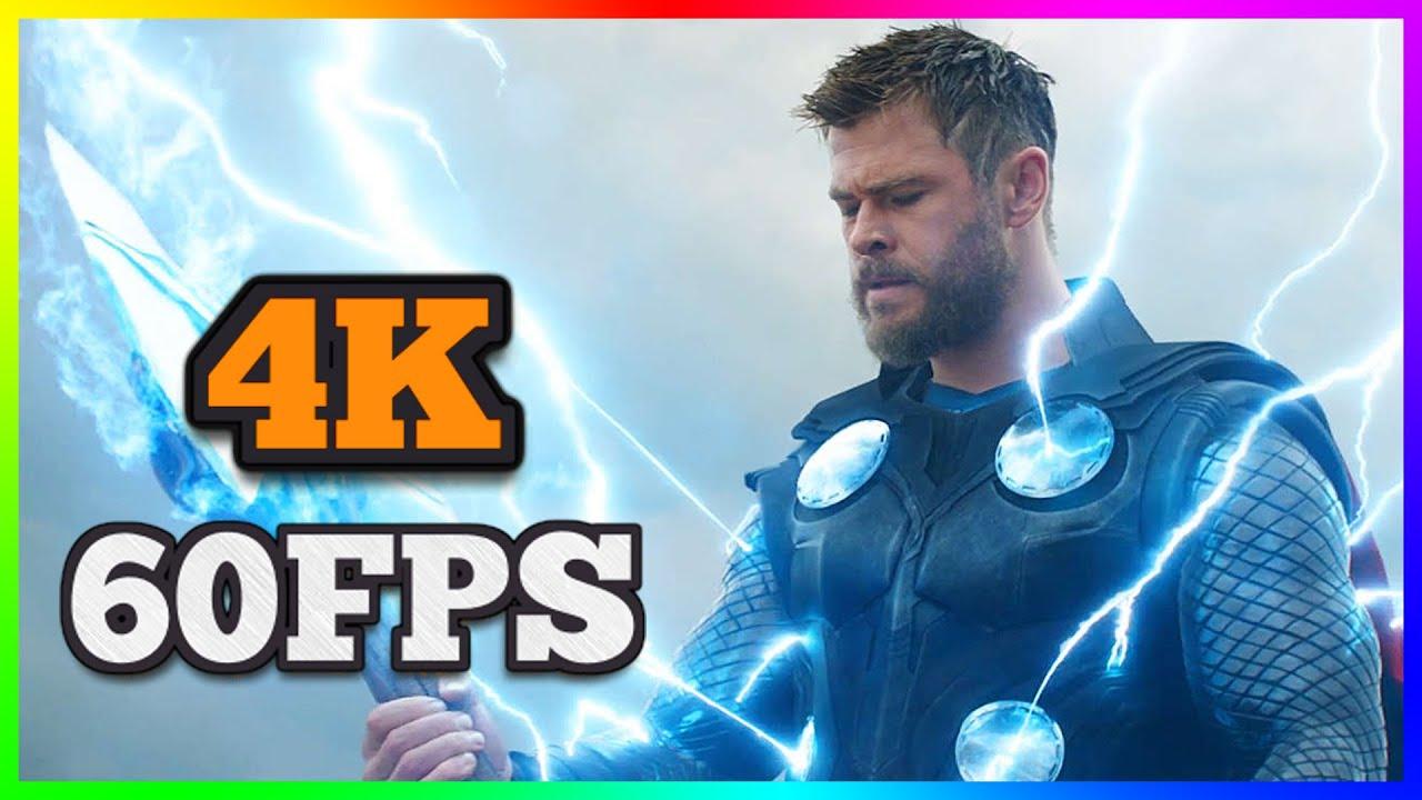 [4K/60FPS] Avengers - Endgame | Official Trailer #2 | 2019