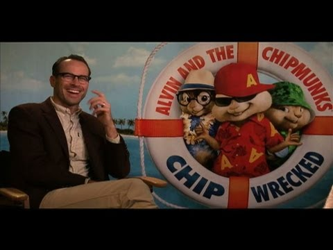 Jason Lee and Chipmunks Interview for ALVIN AND THE CHIPMUNKS: CHIP-WRECKED