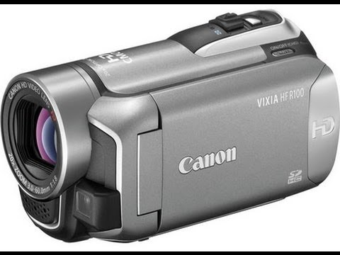 CANON VIXIA HF R100 DRIVERS FOR WINDOWS