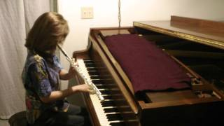 Rachel Flowers - Joe Jackson Medley from Night & Day II - piano & flute