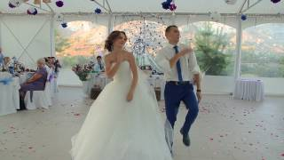 Шикарнейший свадебный танец микс Юлии и Сергея