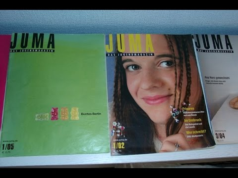 АСМР/ Старый немецкий журнал JUMA /  ASMR Alte Deutsche Magazin
