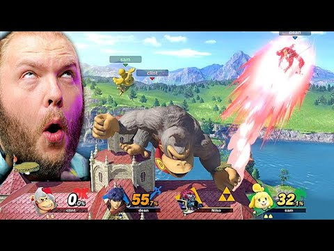DYING FROM LAUGHTER at This Ridiculous GAME BREAKING Smash Mode