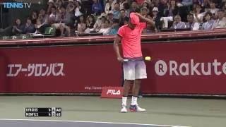 2016 Rakuten Japan Open, Tokyo: Goffin v Cilic; Kyrgios v Monfils semi-finals