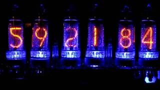 Pvelectronics.co.uk Nixie Tube Digital Clock Kit In-14