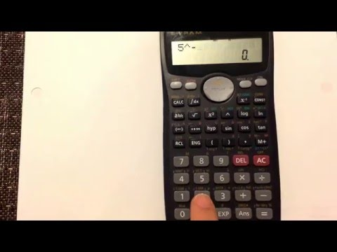 Negative Exponents: How To Enter Negative Exponents In Your Calculator (Casio Fx-991ms)