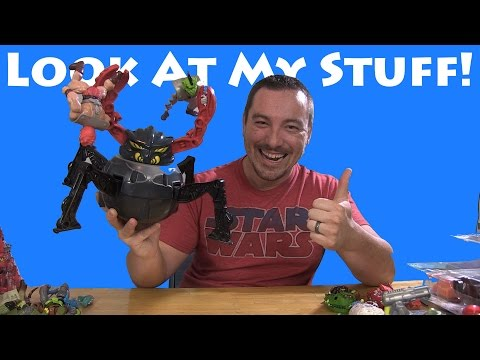 Look At My Stuff! - Kane County Toy Show Spring 2016 Haul Video