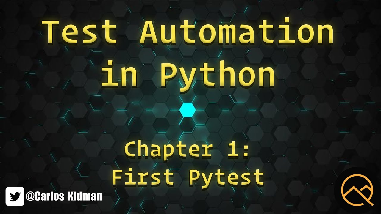 Download Test Automation in Python - Chapter 1