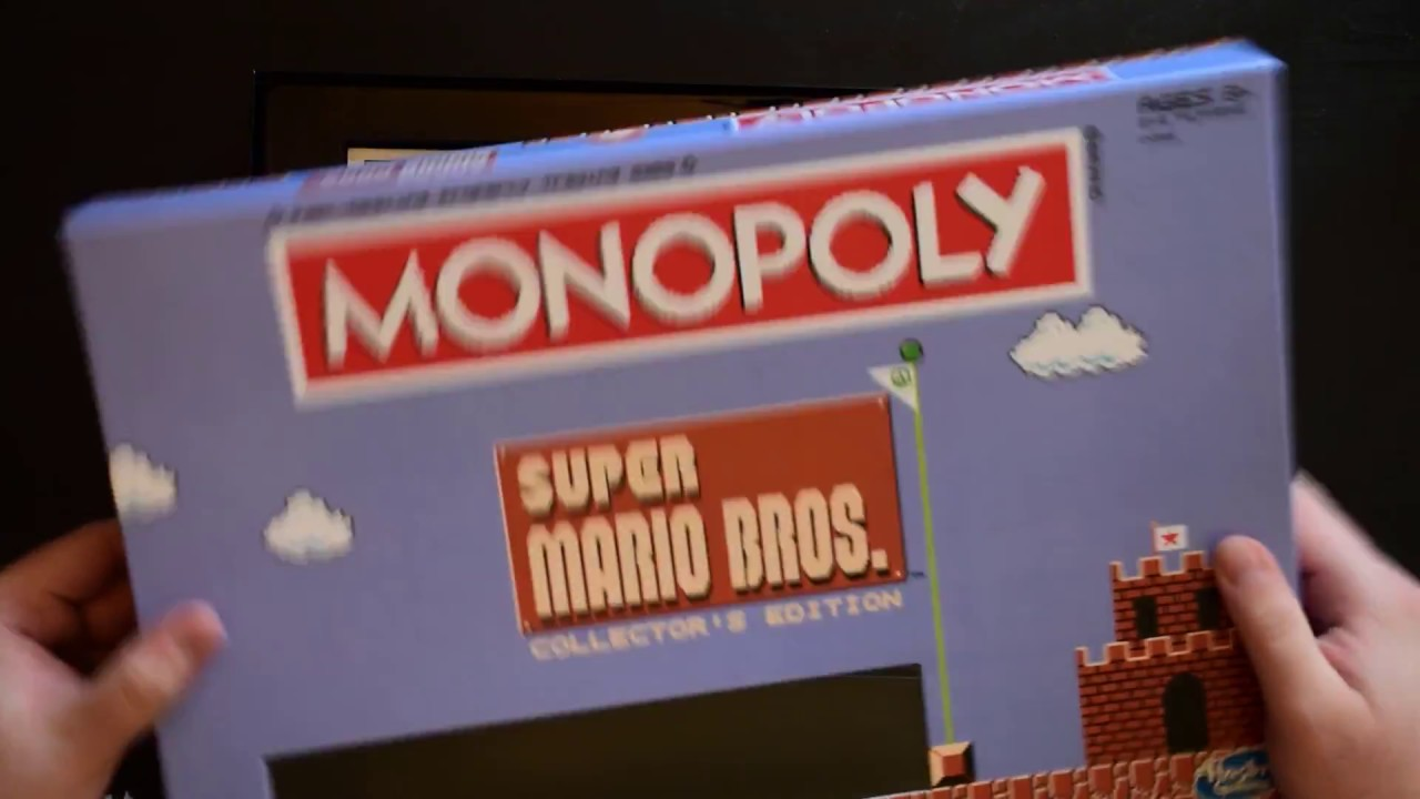 Toys R Us Exclusive Unboxing Super Mario Monopoly Youtube