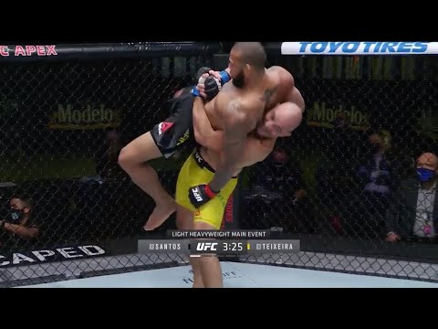 UFC Fight Night 183: Santos vs. Teixeira – Highlights