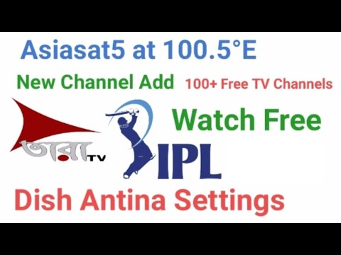 Download Asiasat5 at 100°E C Band Dish LNB Position Setup,