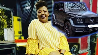 Anele Mdoda got a G63 for her birthday