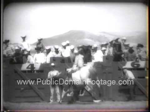 Armed Forces Day at Salinas California Rodeo 1958  - newsreel archival footage