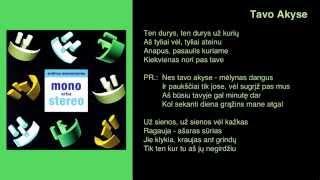 Andrius Mamontovas - Tavo Akyse