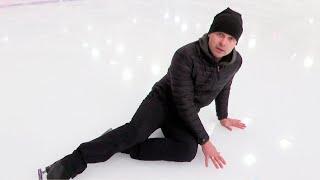 Как научиться кататься и падать правильно? Тренер по фигурному катанию об ошибках новичков!