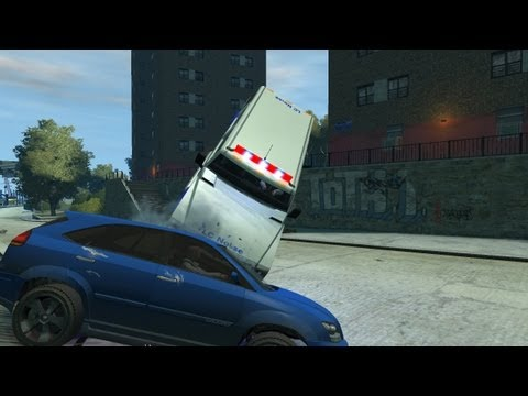 GTA IV TBoGT - Stunt/Epic 8-Track Demo Derby & BUSTED!