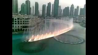ABU DHABI - Fountain Burj Khalifa