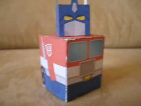 Papercraft Simple Papercraft G1 Optimus Prime