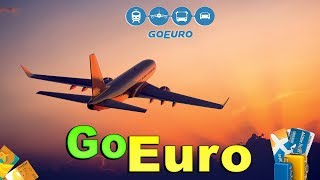 شرح تطبيق goeuro  للإنتقالات بين العواصم الأوربية | حجز  رحلة طيران بين العواصم الأوروبية