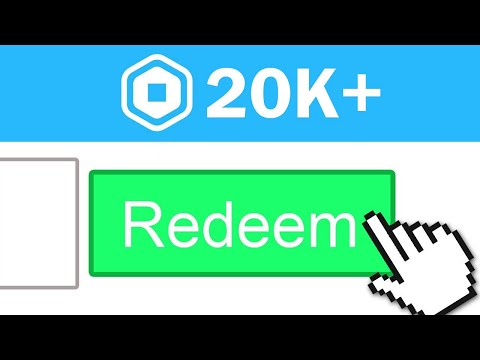 ENTER THIS PROMO CODE FOR FREE ROBUX! (20,000 ROBUX) October 2020 thumbnail
