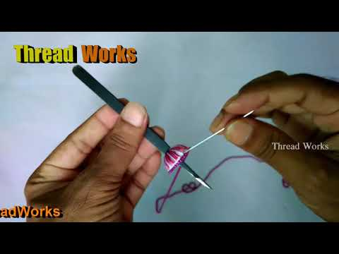 Thread earrings making, silk thread jewellery, silk thread earrings, Thread Works