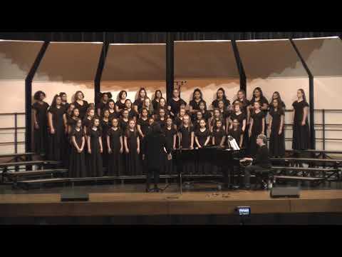 Stripling Middle School Varsity choir 2019
