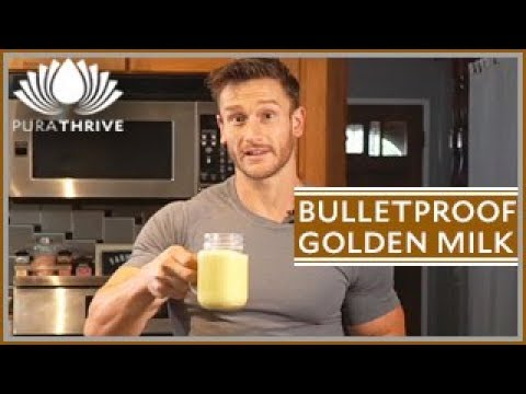 Fat-Burning Bulletproof Golden Milk Recipe: PuraTHRIVE – Thomas DeLauer