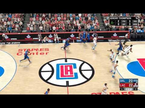 NBA 2K17 Kariera PL odc. 46- Blake Griffin to niszczyciel!!! (brak mego pięknego głosu;P)
