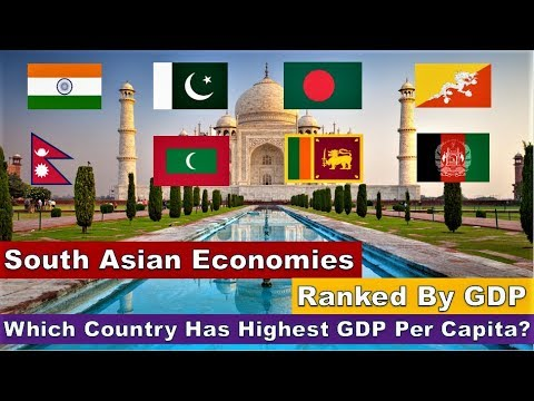 Economy Of South Asian Countries 2019