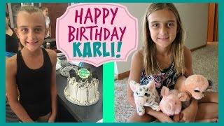 HAPPY 11th BIRTHDAY KARLI REESE!