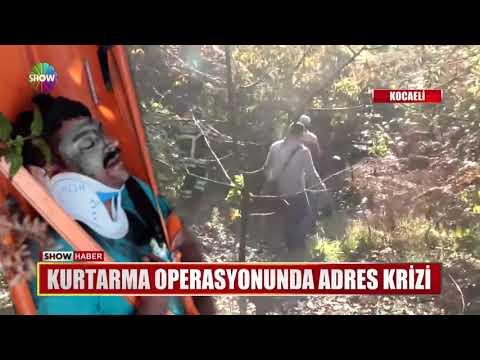 Kurtarma Operasyonunda Adres Krizi
