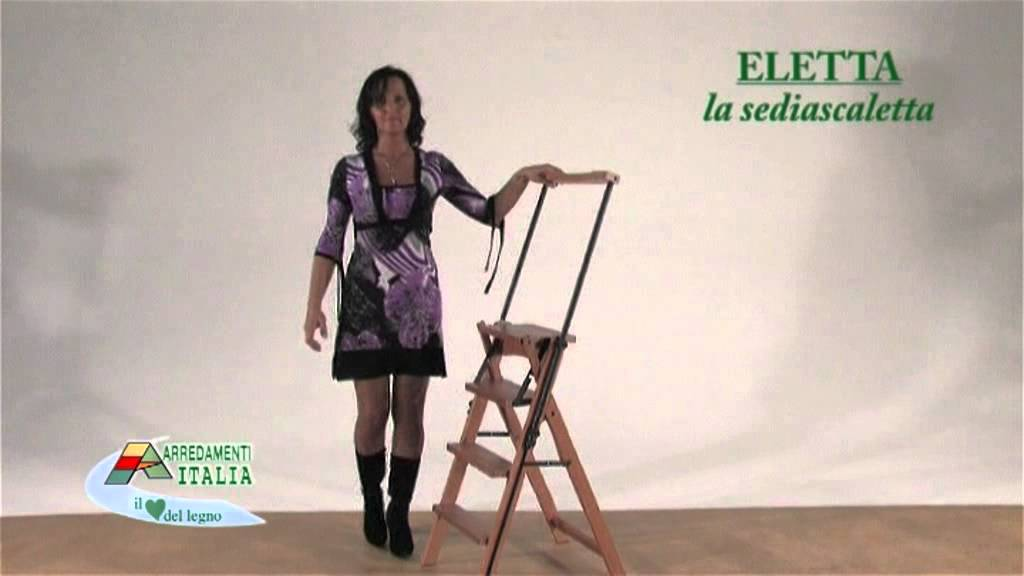 eletta la chaise escabeau youtube. Black Bedroom Furniture Sets. Home Design Ideas