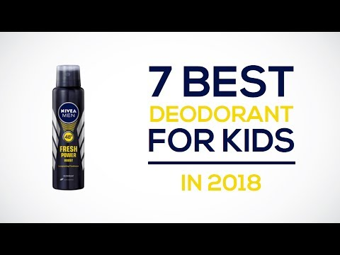 7 Best Deodorant For Kids In 2018