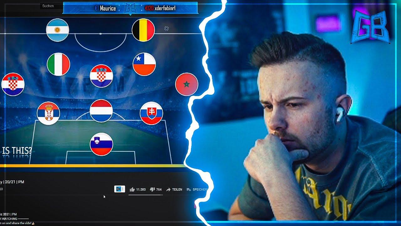 GamerBrother SPIELT FUSSBALL TEAM durch NATIONALITÄTEN ERKENNEN 🔥 | GamerBrother Stream Highlights