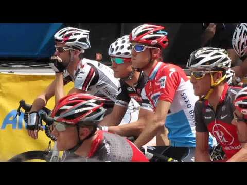 Start of Amgen Tour of California in Nevada City