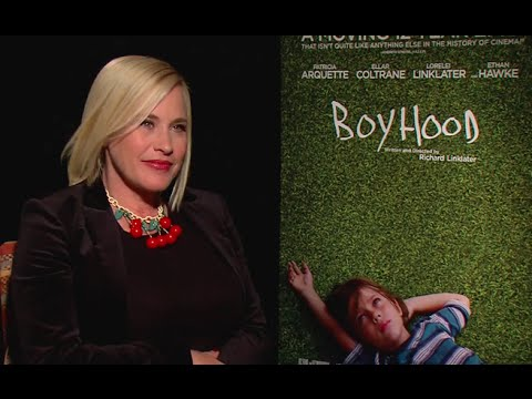 Patricia Arquette interview - Boyhood (2014) HD