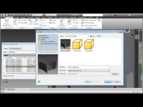 AutoCAD Electrical - Inventor parts integration