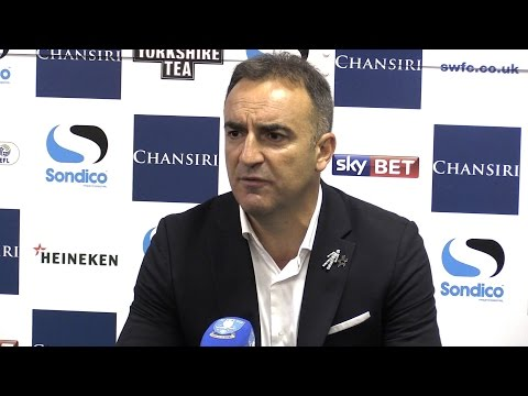 Sheffield Wednesday 1-1 Huddersfield (3-4 On Pens) - Carlos Carvalhal Post Match Interview