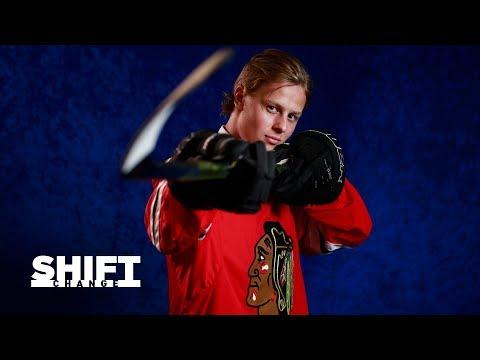 Brian Campbell mentors Adam Boqvist - Shift Change   Chicago Blackhawks