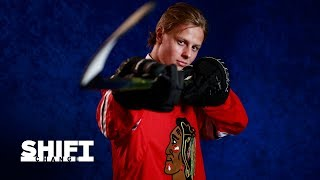 Brian Campbell mentors Adam Boqvist  Shift Change | Chicago Blackhawks