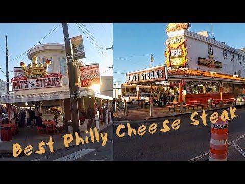 Genos Steaks Vs Pats King Of Steaks  - Best Philly Cheese Steak In Philly?