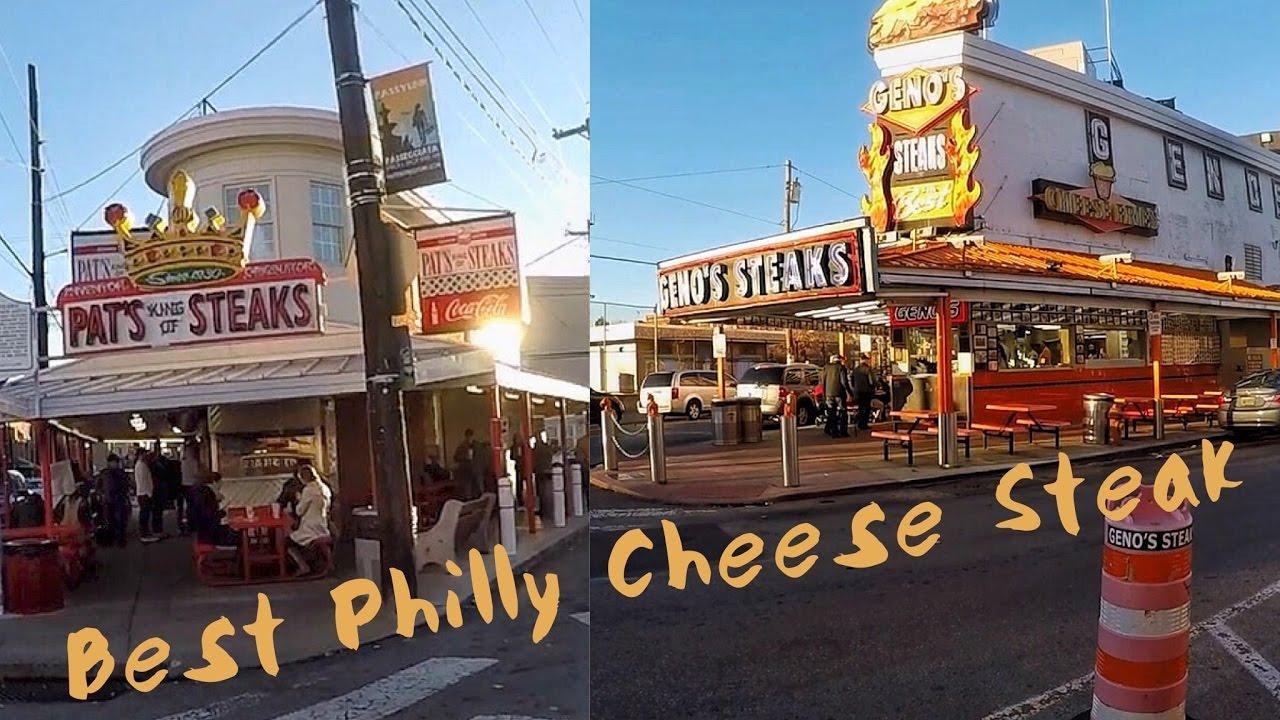 Genos Steaks Vs Pats King Of Best Philly Cheese Steak In
