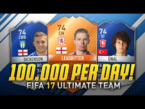 MAKE 100,000 COINS PER HOUR DURING TOTS! ⚡ (FIFA 17 Trading Method)