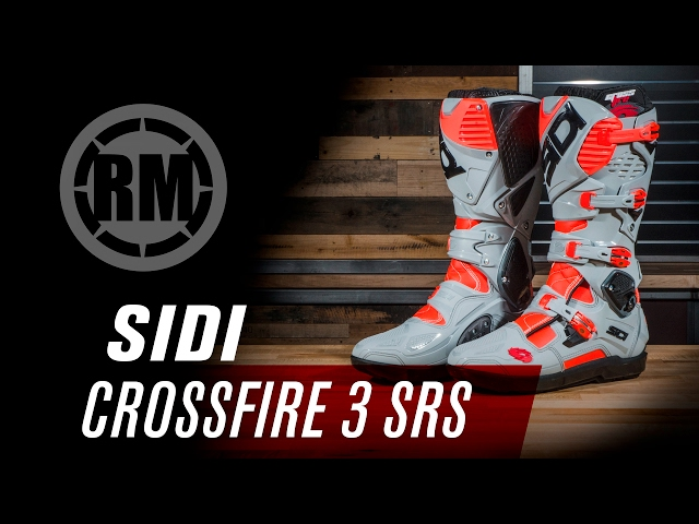 Sidi Crossfire 3 SRS Motorcycle Boots