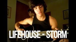Lifehouse - Storm (acoustic cover)