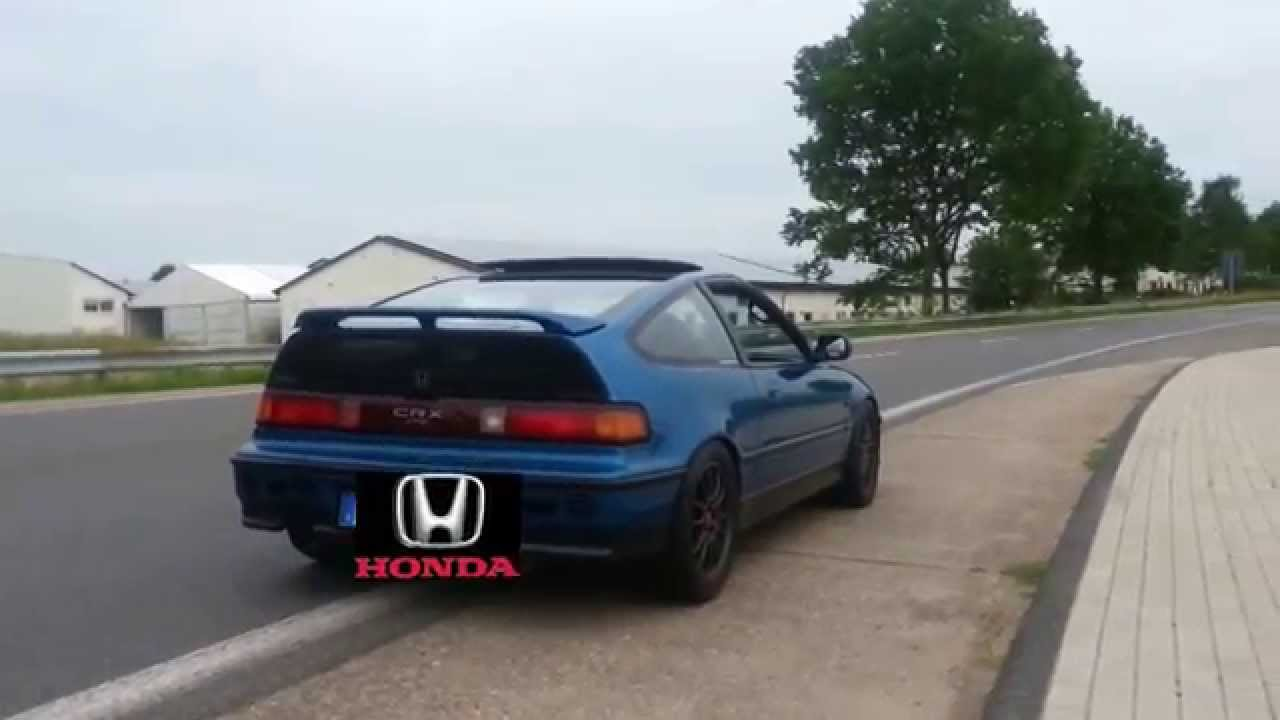 k20 powered honda crx ee8 take off launch control youtube. Black Bedroom Furniture Sets. Home Design Ideas